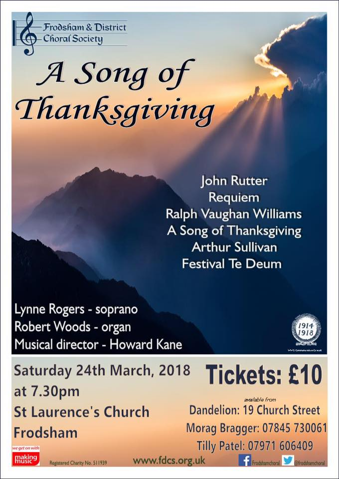 'A Song of Thanksgiving'