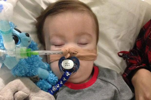 Warrington Guardian: Alfie Evans is in a 'semi-vegetative state', the court heard (Alfie's Army Official/PA)