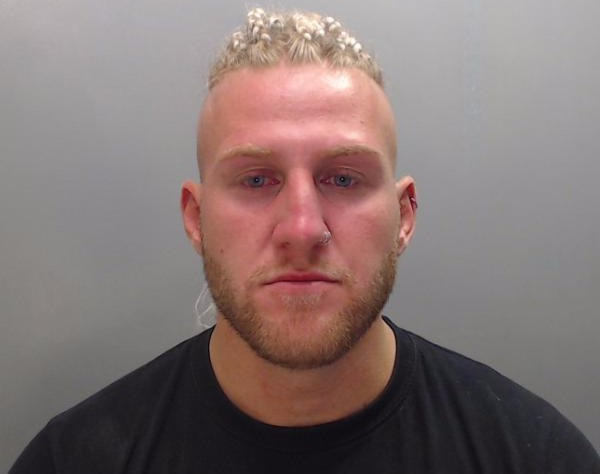Joel Beales-Hobson was caught with thousands of pounds worth of drugs at Creamfields.