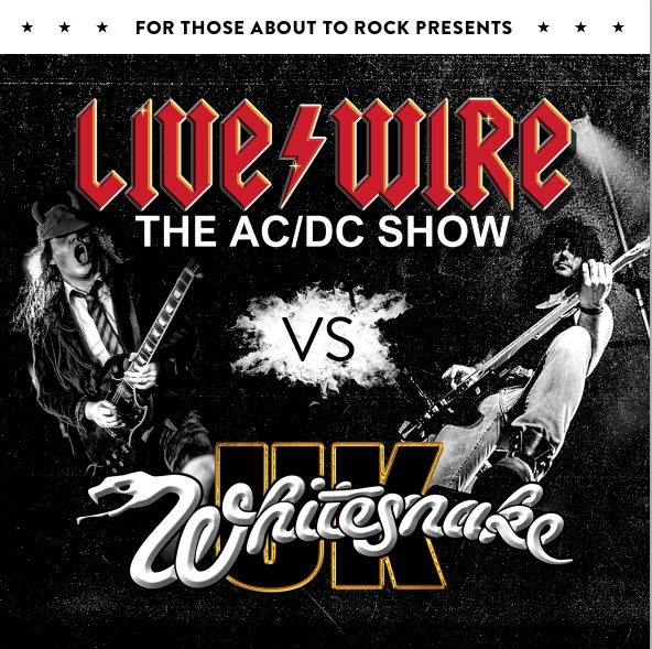 Ultimate tribute rock night to see 'AC/DC' square up against 'Whitesnake'