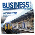 Warrington Guardian: business march 2018 cover