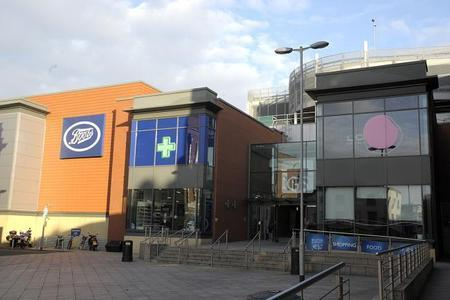 Warrington Guardian: Golden Square Shopping Centre