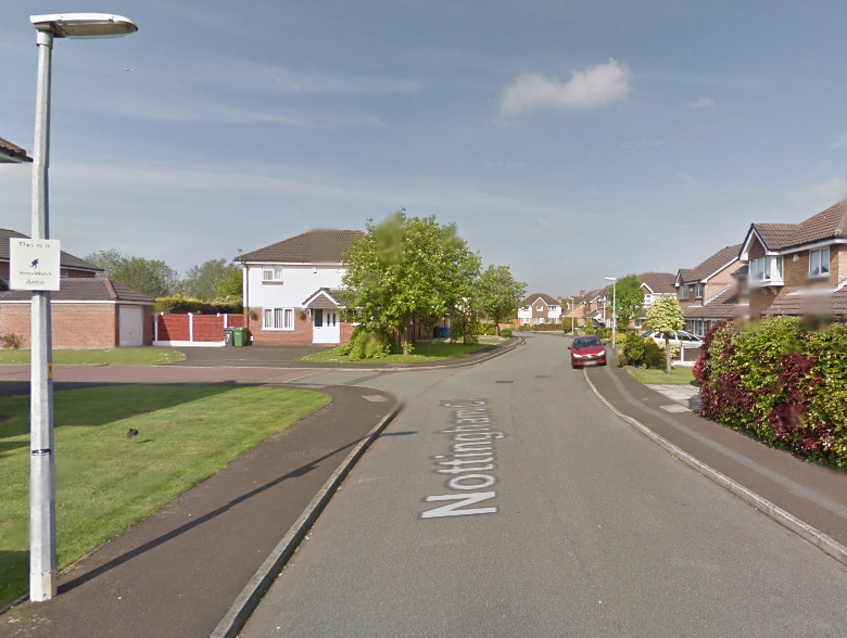A Mercedes was stolen from Nottingham Close in Woolston yesterday, Sunday. Picture by Google Maps.
