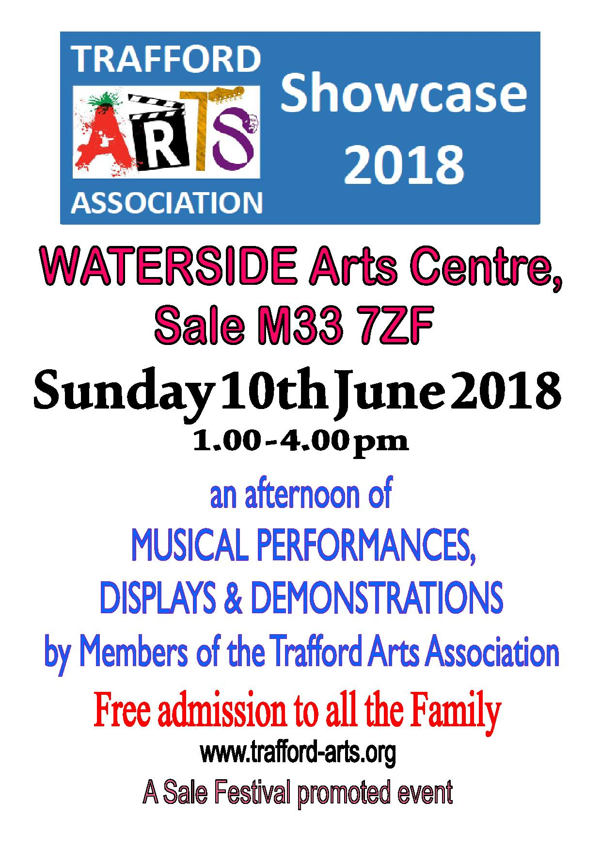 Trafford Arts Association Members' Showcase