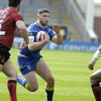 Warrington Guardian: Pat Moran on his Warrington Wolves debut. Picture by Mike Boden