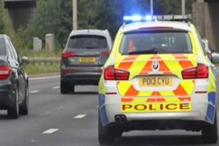 M6 driver pulled over after calling mum to see why 'police car wasn't going passed'