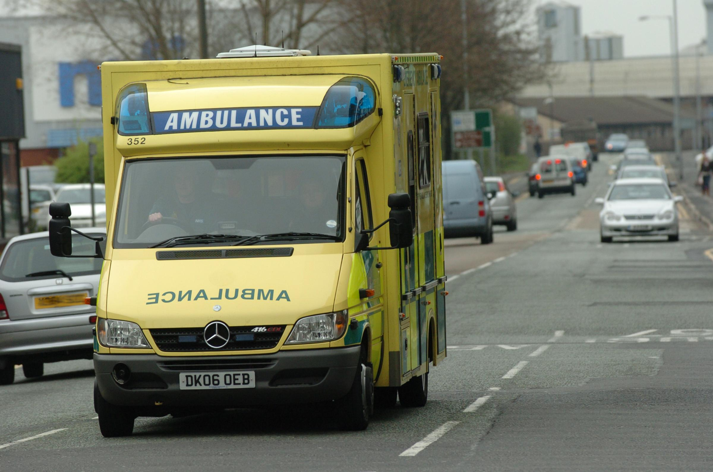 The North West Ambulance Service were called to more than 100 incidents in Warrington on New Year's Eve.