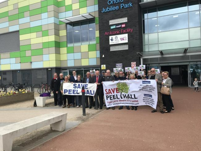 Campaigners have attended the public inquiry