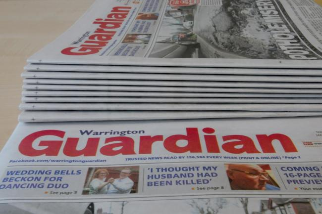 Paper rounds are now available to deliver the Warrington Guardian