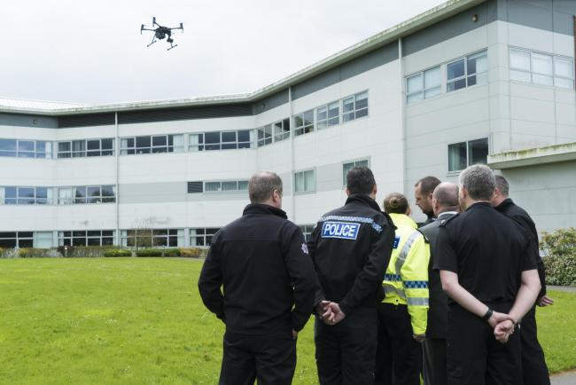 Cheshire Police drone to be deployed over Warrington town centre this weekend