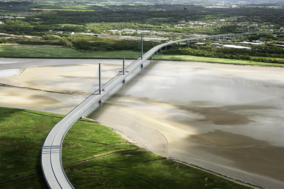 Mersey gateway bridge - From Mersey Gateway Facebook page