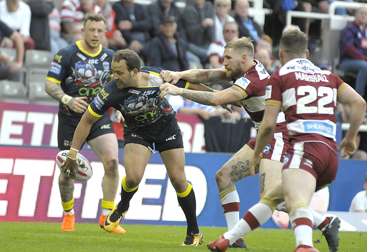 MATCHDAY LIVE: Warrington Wolves v Wigan Warriors, Magic Weekend 2018