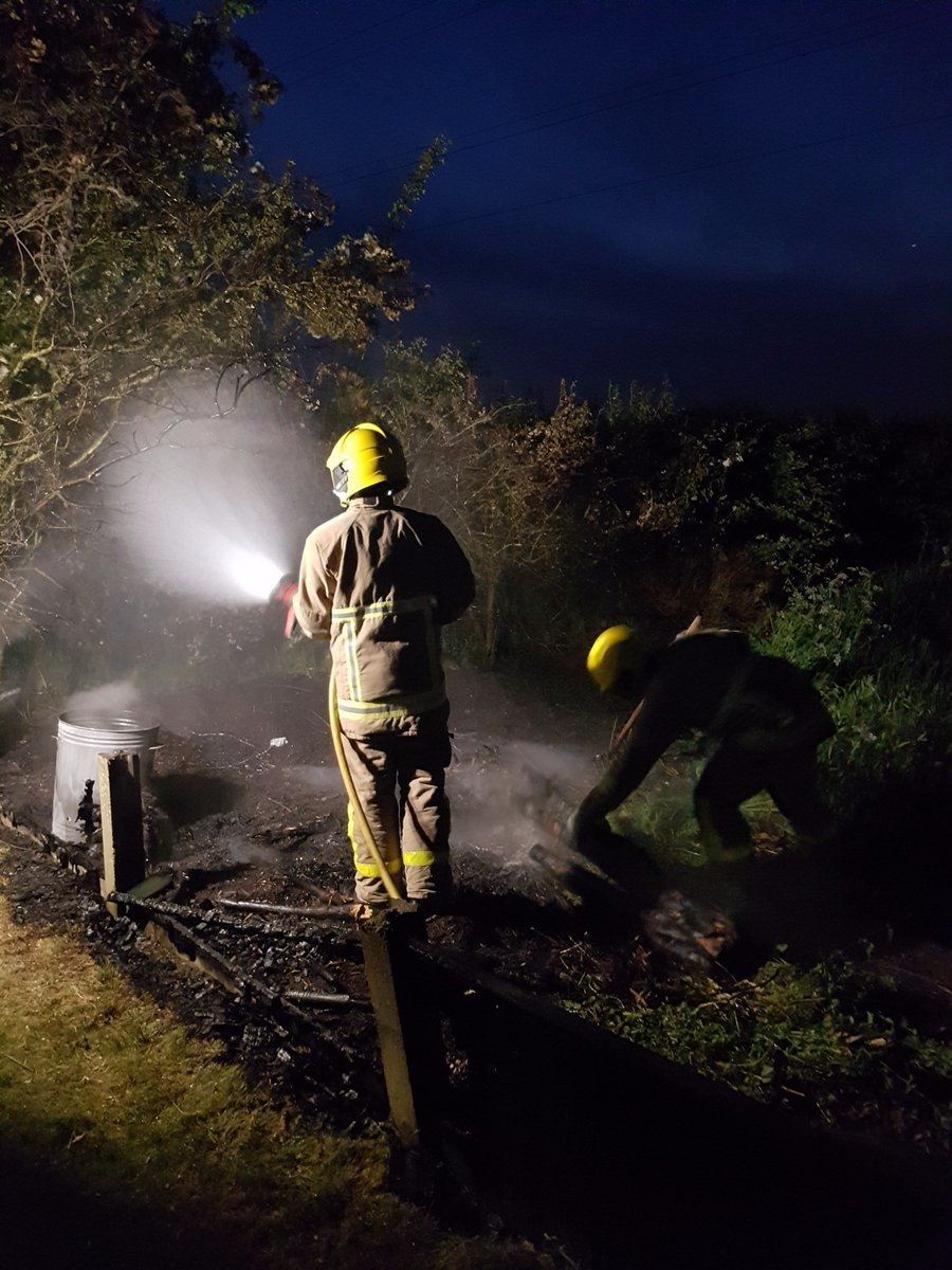 Firefighters from Penketh attend small field fire
