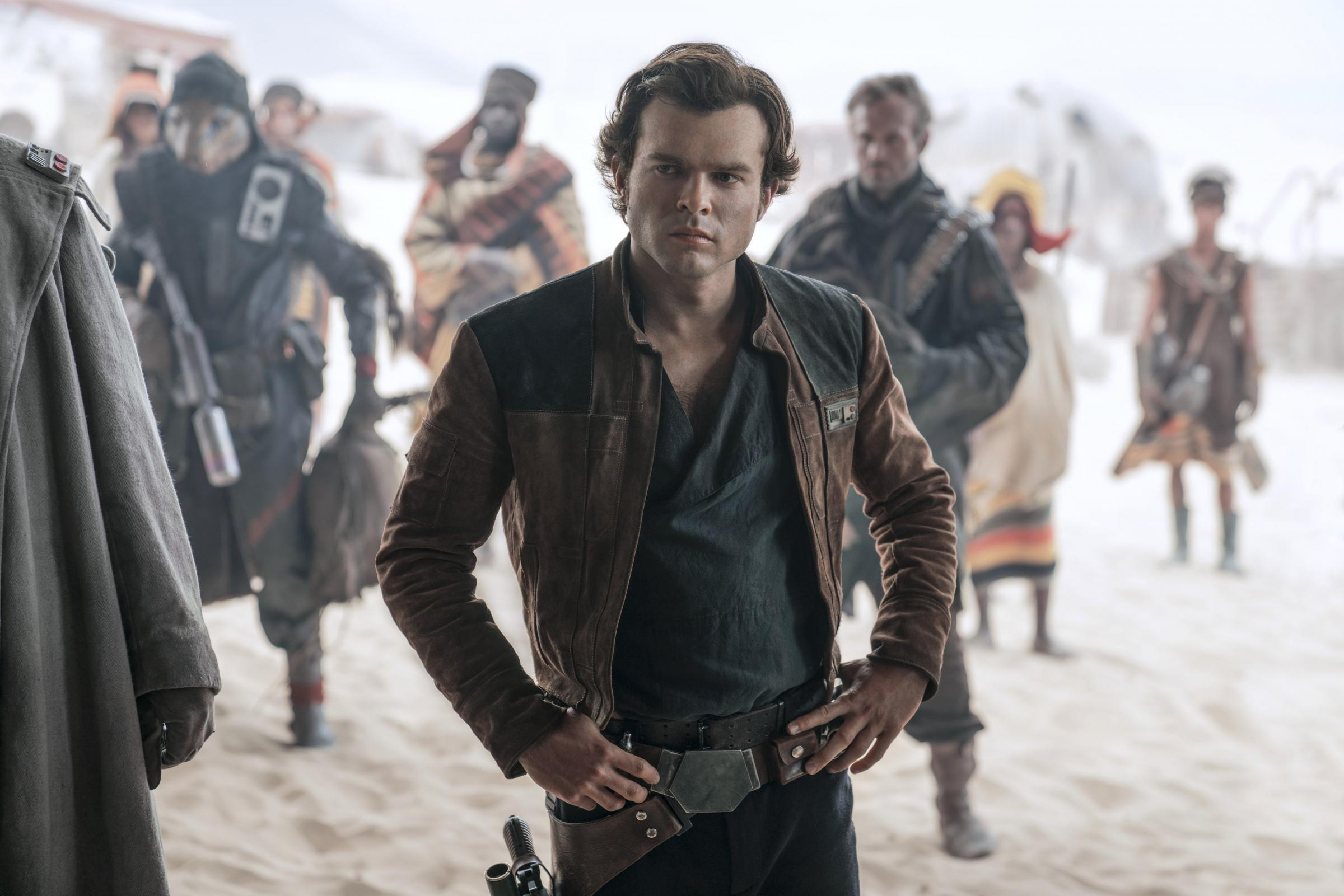 Alden Ehrenreich plays Star Wars' stuck up, half-witted, scruffy-looking nerf herder