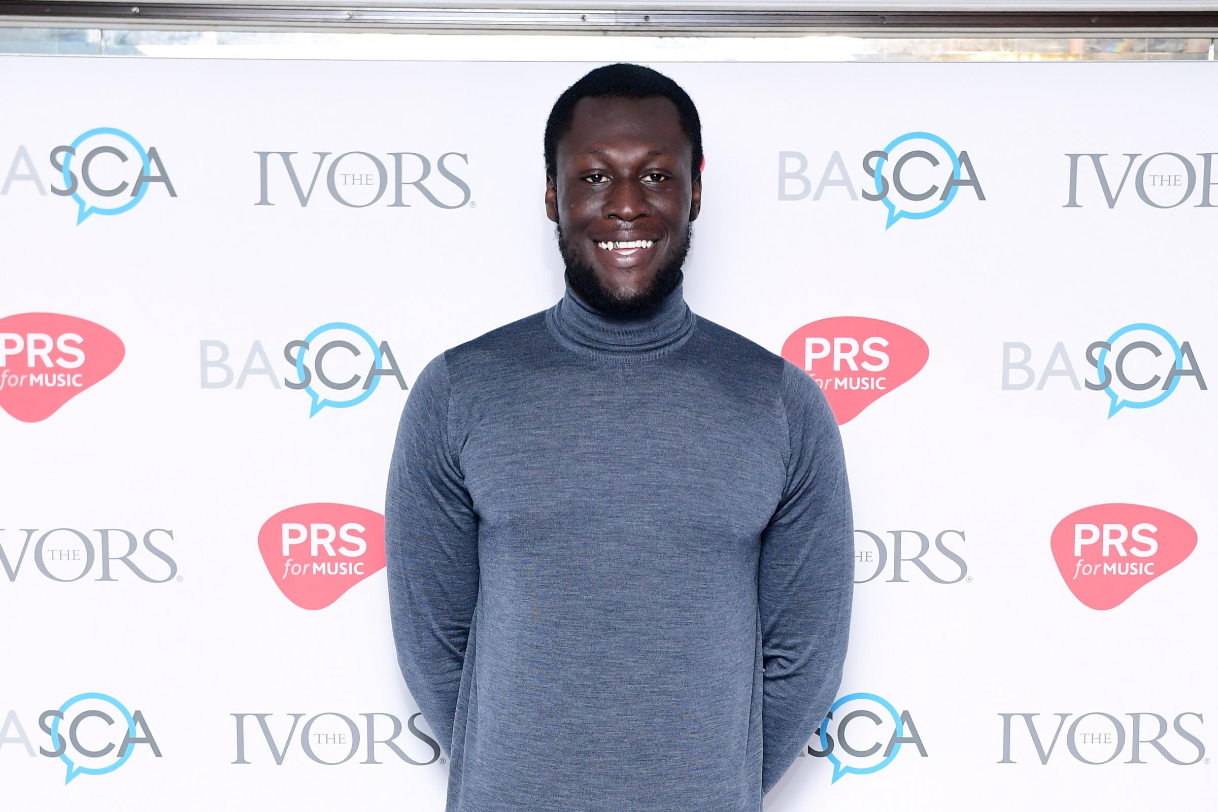 Stormzy at Ivor Novello Awards 2018