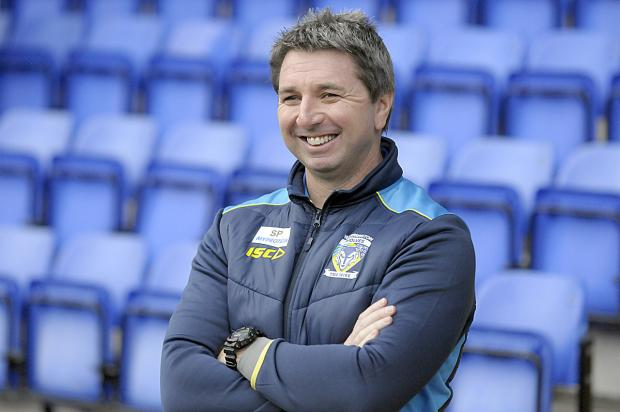 Warrington Guardian: Steve Price has the luxury of naming an unchanged squad for Friday's game against Castleford. Picture by Mike Boden