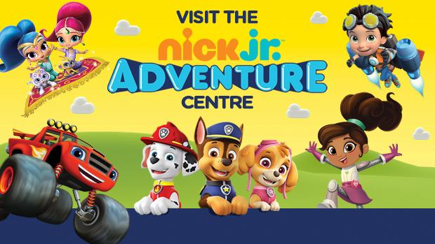 free nick jr adventure centre with paw patrol play zone announces st