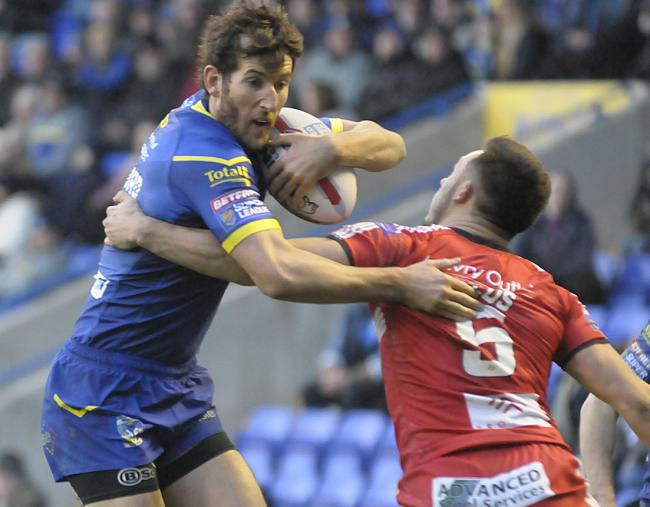 Stefan Ratchford was voted as your man of the match for Thursday's draw with Catalans. Picture by Mike Boden