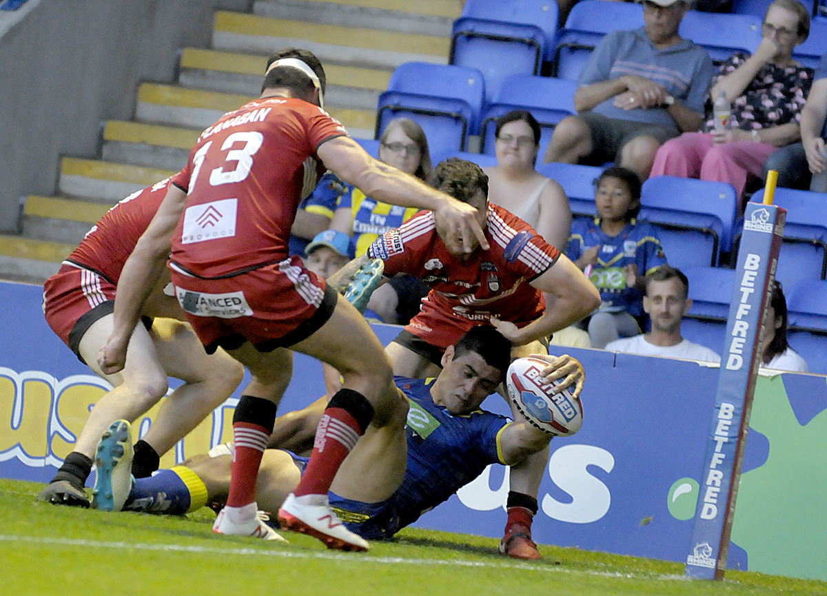 GUARDIAN VERDICT: Warrington Wolves 30 Salford Red Devils 14