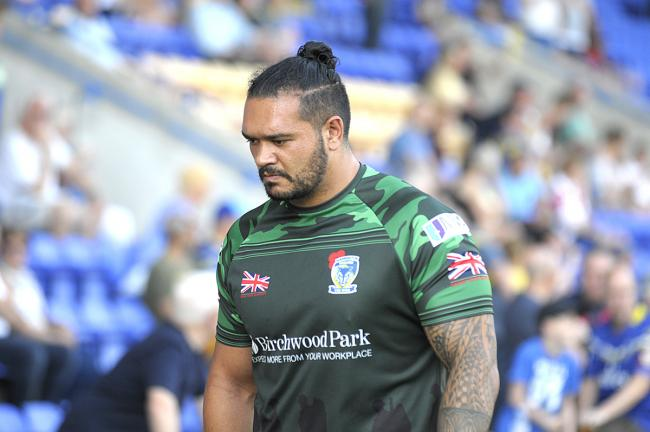 Ben Murdoch-Masila, who will miss the Wigan match on Friday. Picture by Mike Boden