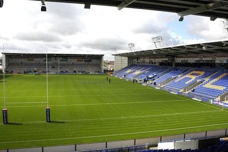 The Halliwell Jones Stadium will host matches behind closed doors this month