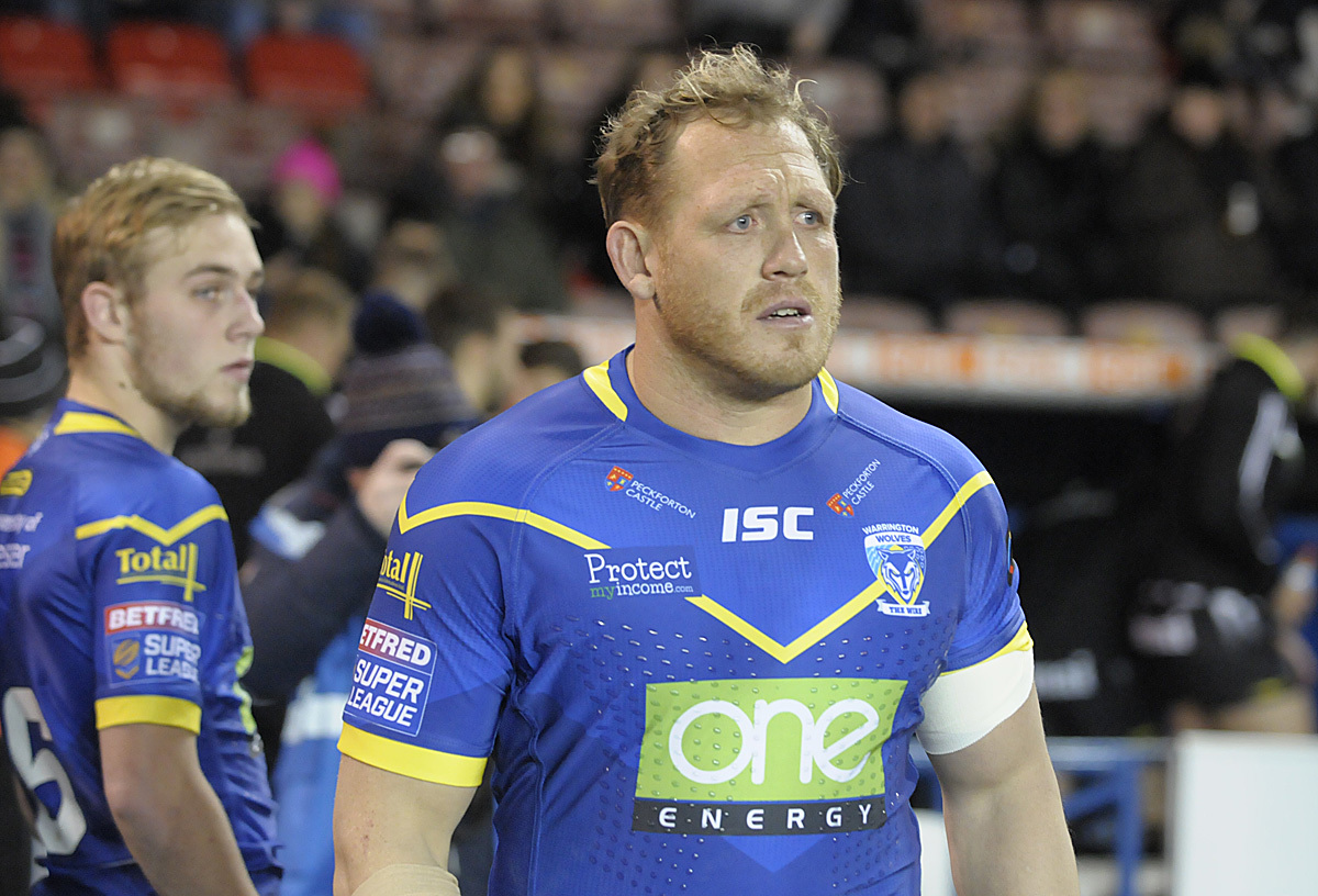 Ben Westwood will not play against Hull FC tomorrow. Picture by Mike Boden
