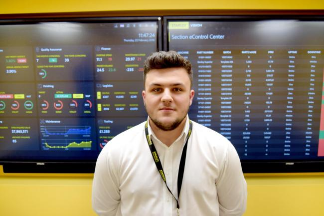 Ryan Kenny is BTEC Apprentice of the Year 2018