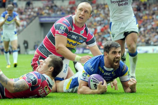 The Wire have beaten Leeds in two Challenge Cup Finals in the past 10 years, including this one in 2012. Picture by Dave Gillespie