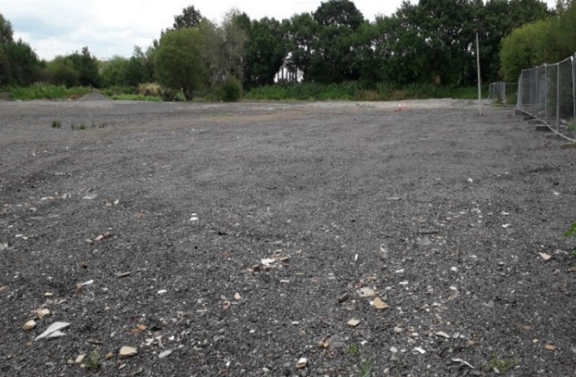 A picture of the site, from 2012, submitted in planning documents