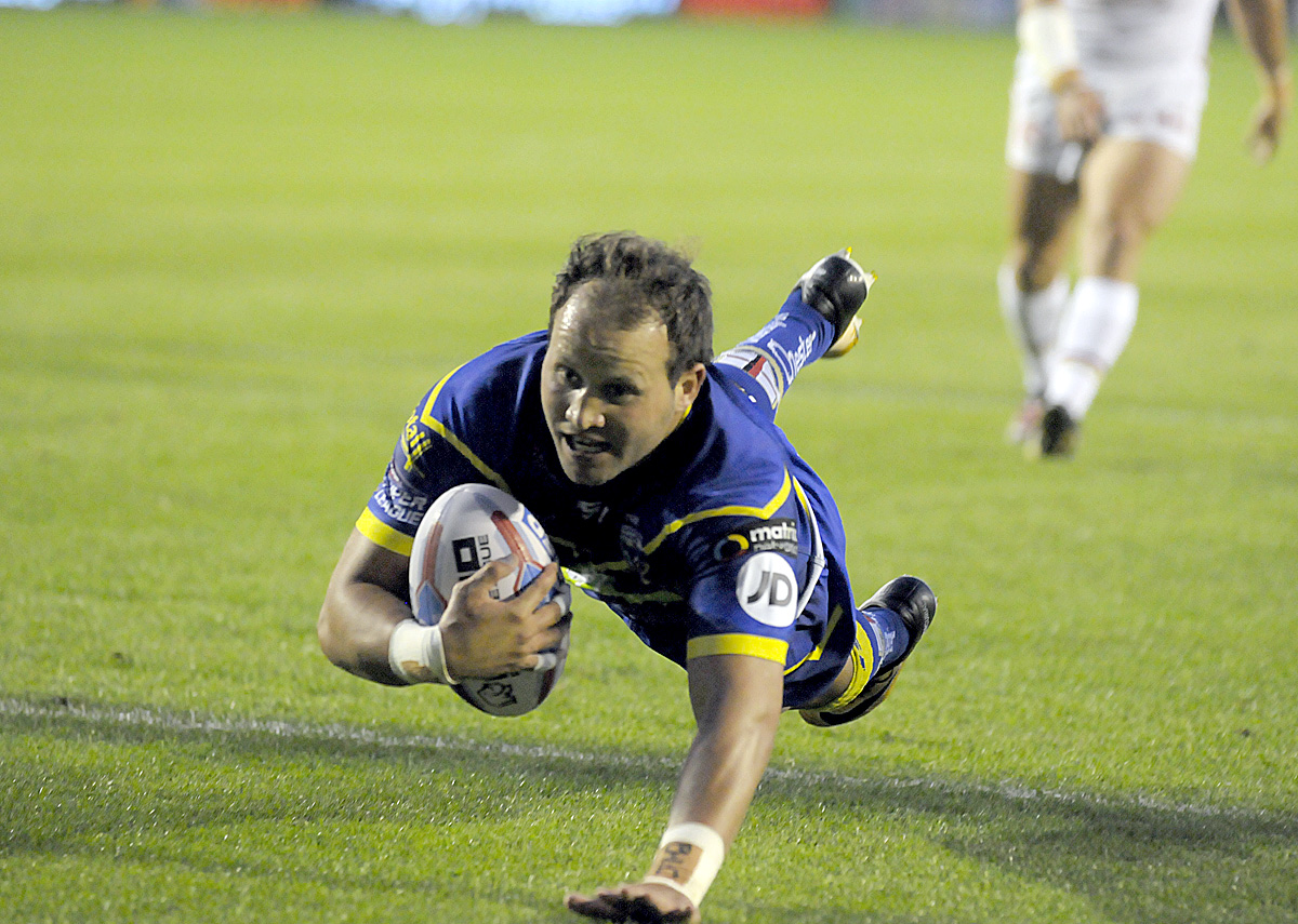 Tyrone Roberts was a try-scorer in the victory over Catalans