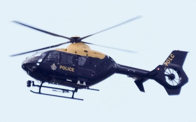 This is why the police helicopter was spotted over town in the early hours