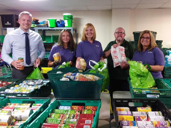 Warrington Foodbank Provides Food For More Than 160 Families