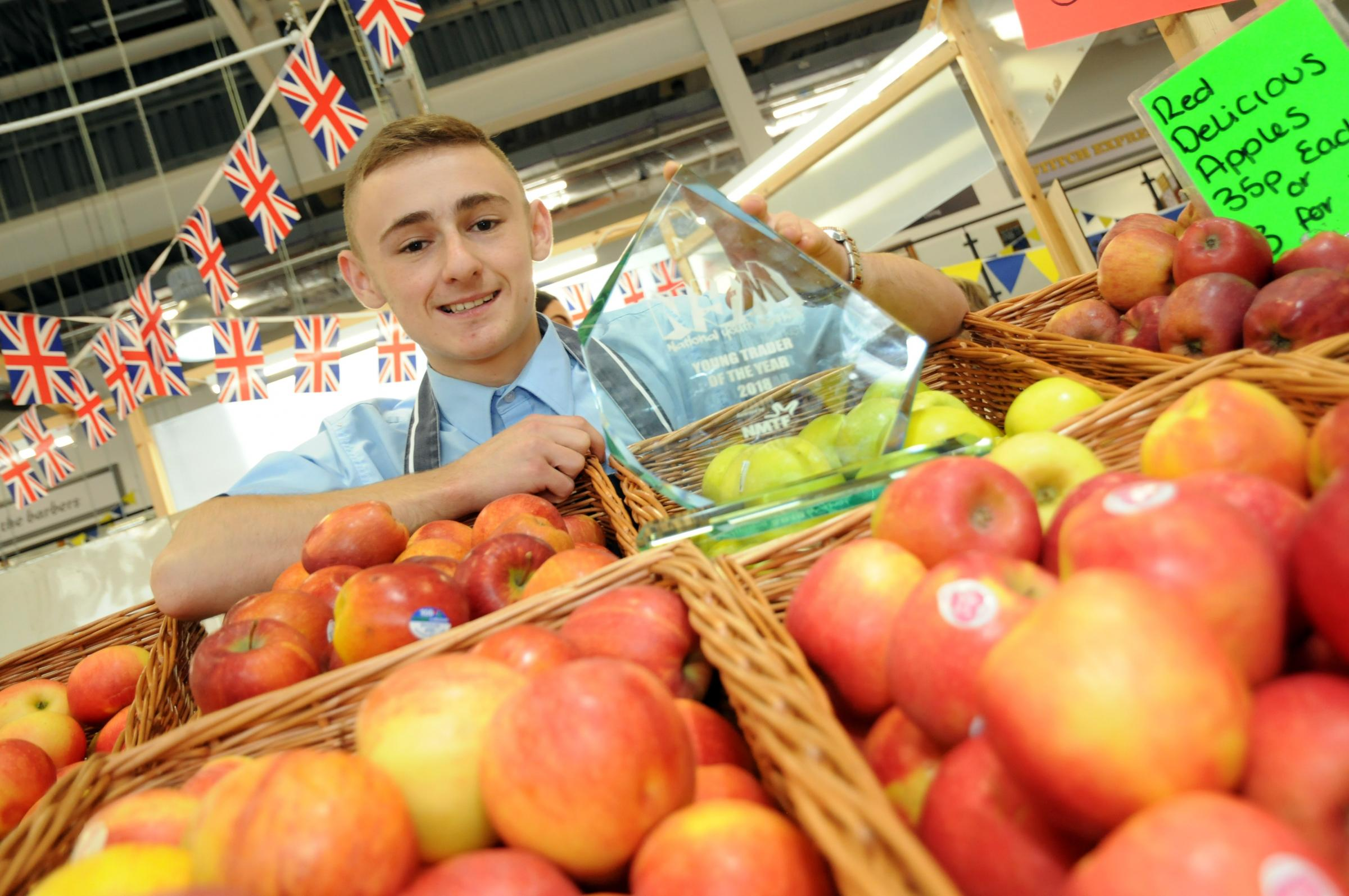 Warrington Market trader Rob Leicester heads for Parliament