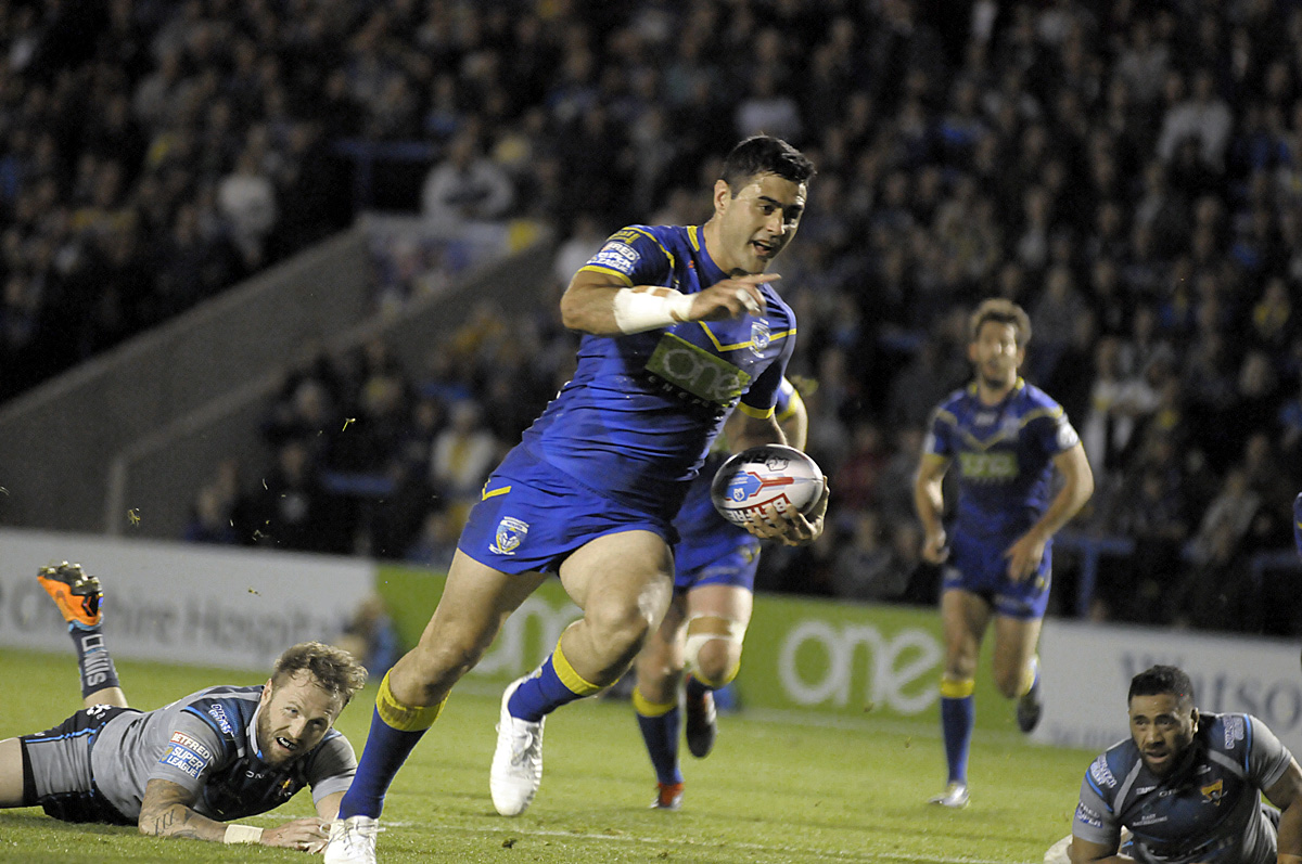 Bryson Goodwin scored another two tries against Huddersfield. Picture by Mike Boden