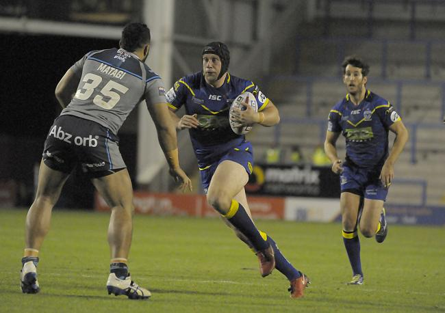 Chris Hill will not feature for The Wire against Wigan Warriors on Friday. Picture by Mike Boden