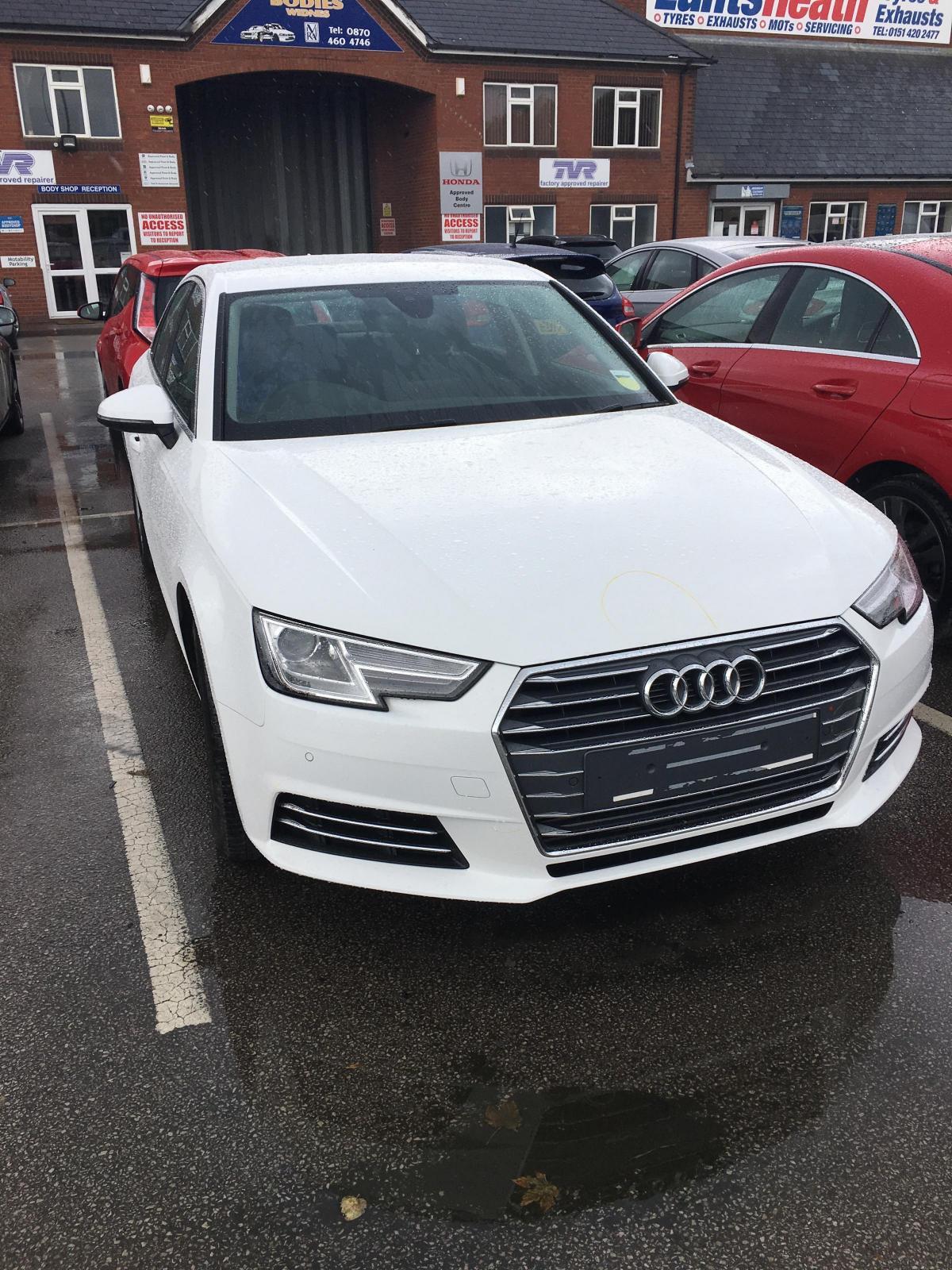 Audi Left At Manchester Airport Meet And Greet Parking Written Off