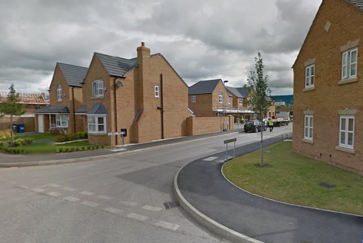 Gilbert Drive was the named as the lucky winner of the People's Postcode Lottery Daily Prize. Picture by Google Maps.