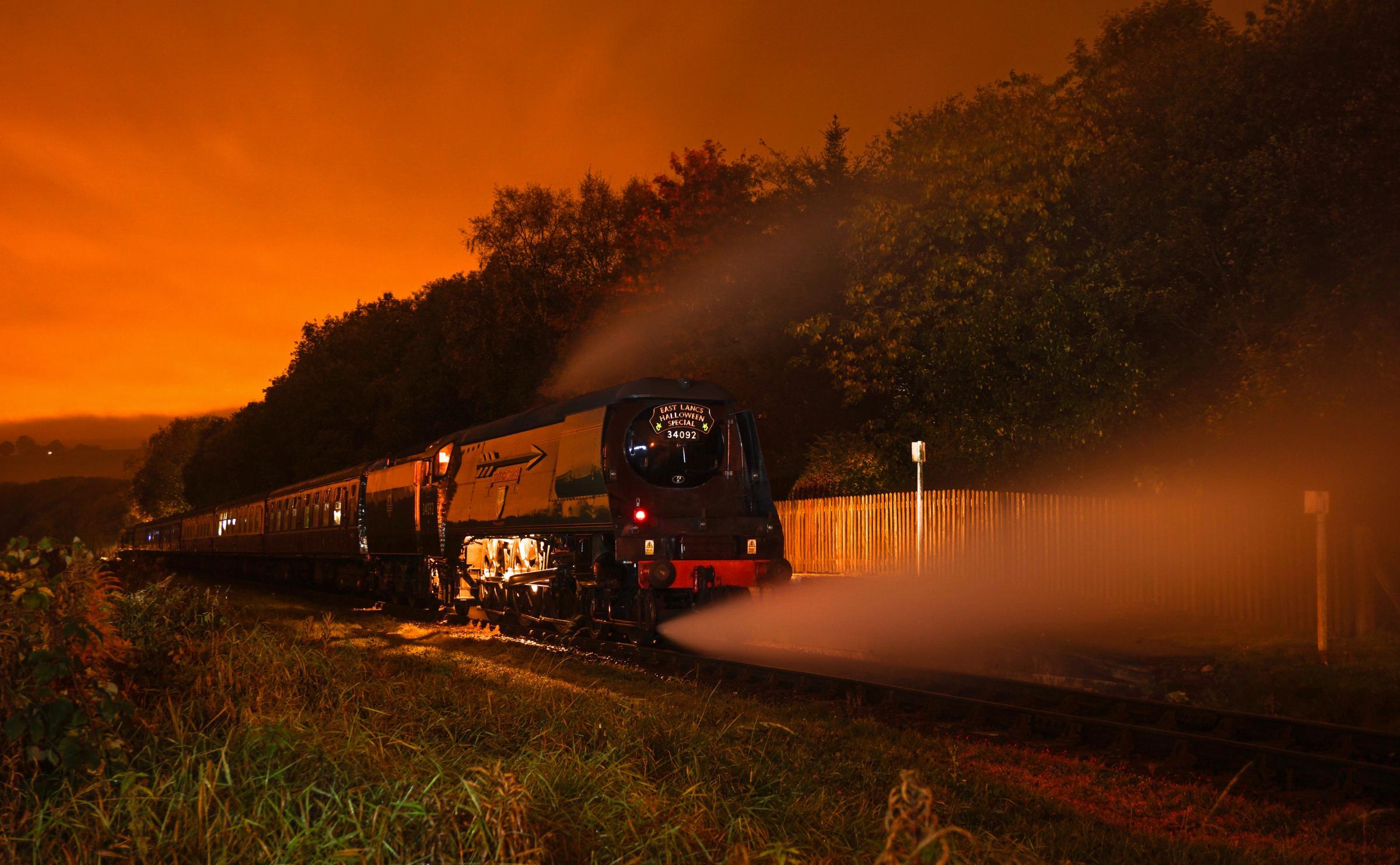 Halloween Train   East Lancashire Railway Announces Ghost Train Dates For Little