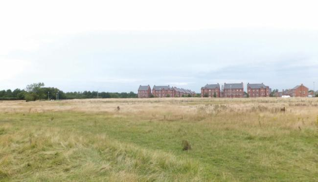 A picture of the site submitted in the planning documents