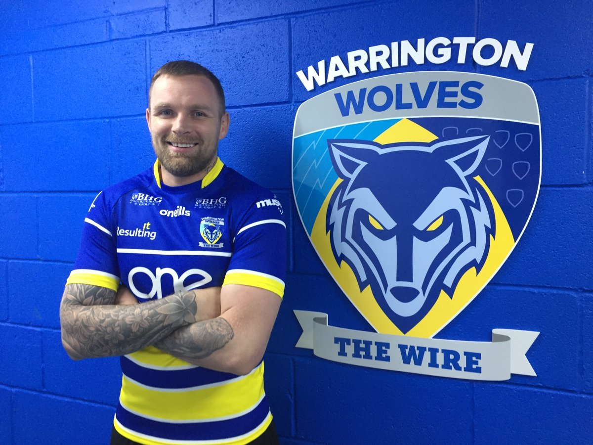 Blake Austin has arrived in England. Picture by Warrington Wolves