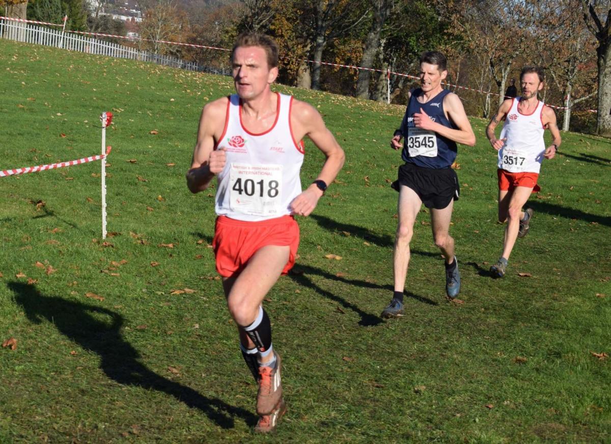 Nick Jones, Dave Gill and Steve Watmough medals in British