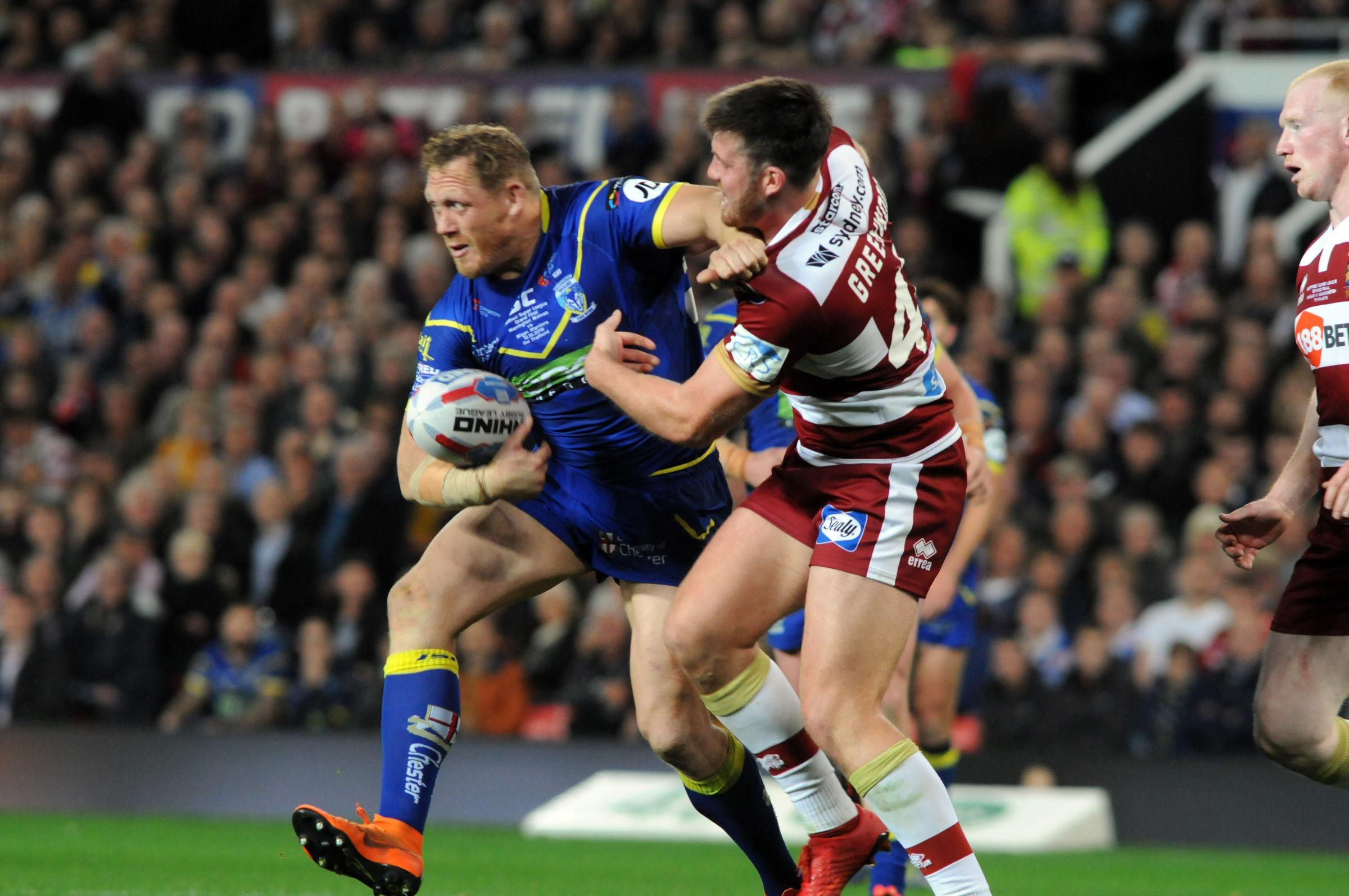 Ben Westwood has signed a new one-year deal with Warrington Wolves. Picture by Dave Gillespie