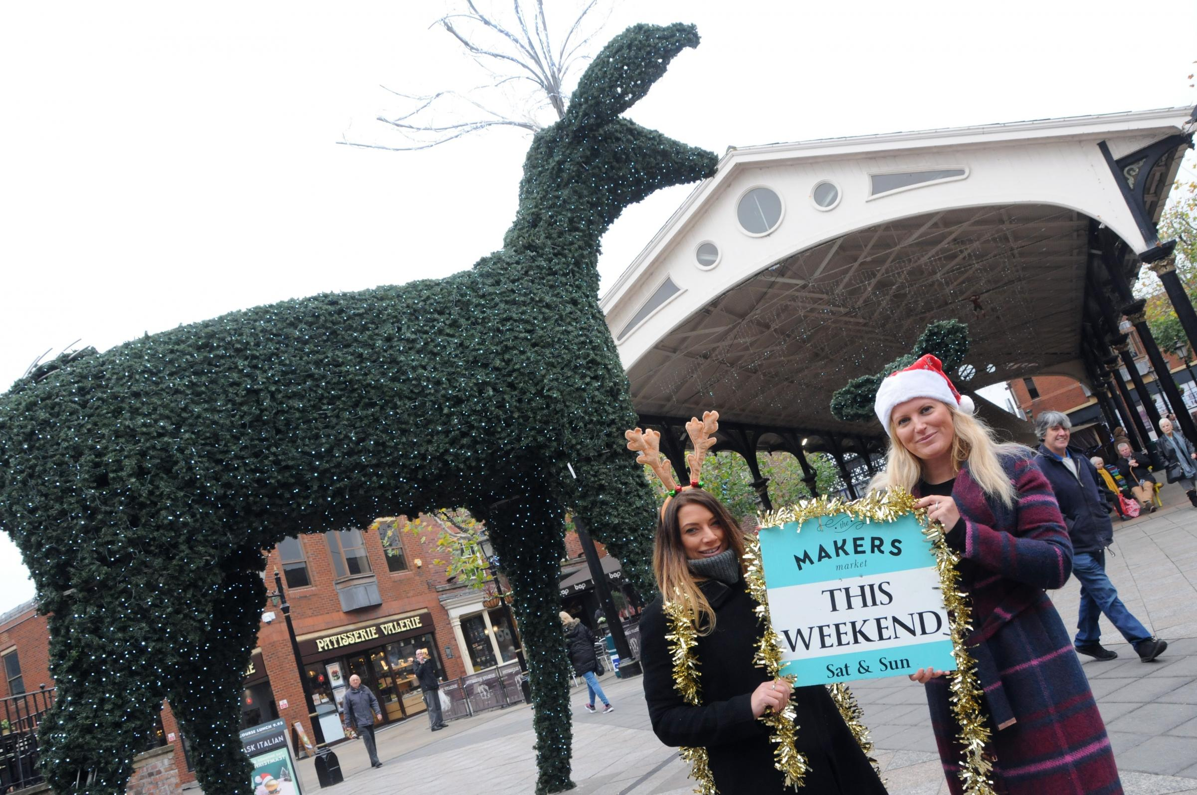 Pop-up Christmas market to take over town centre with 150 stalls this weekend
