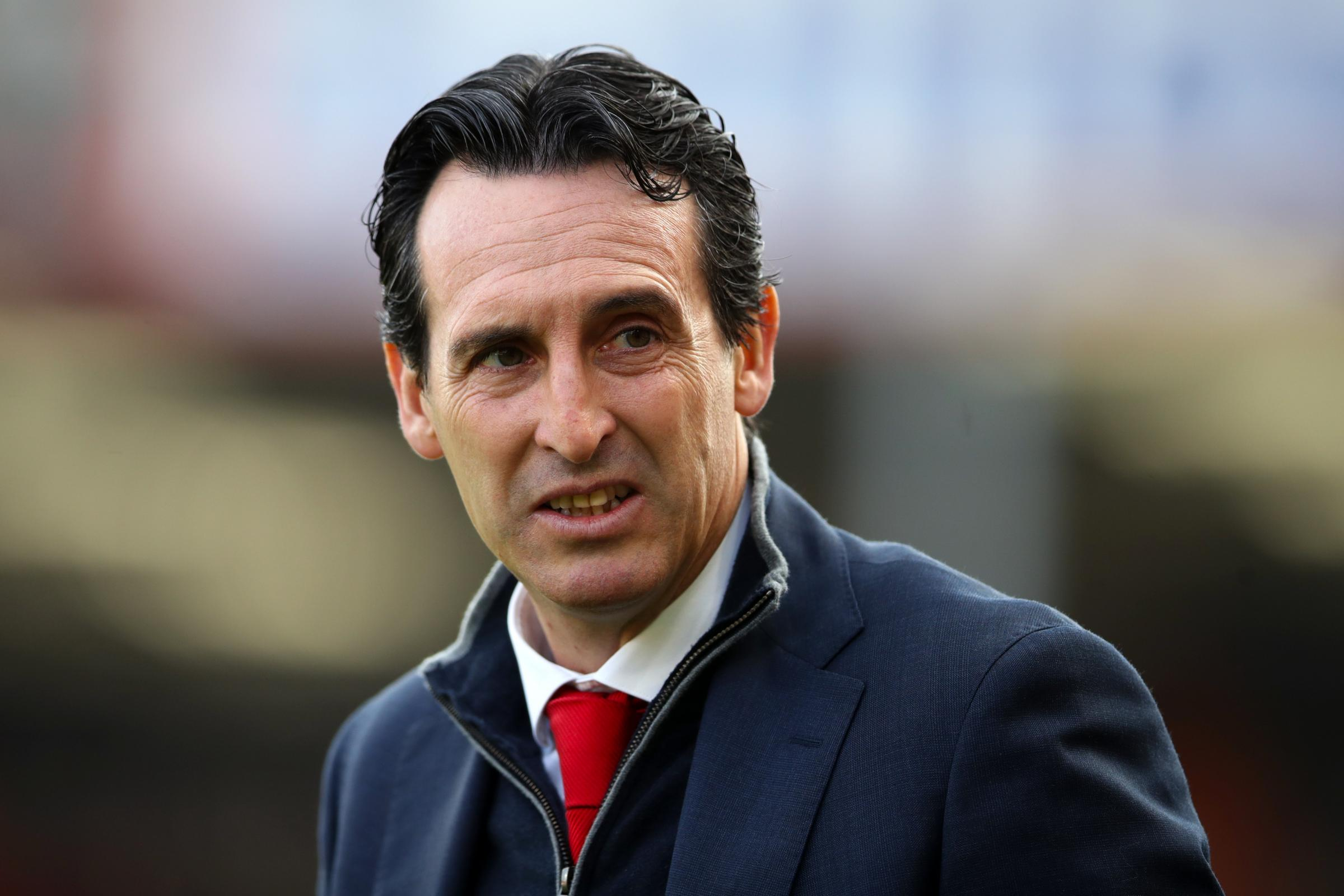Arsenal manager Unai Emery has led his team to a 20-match unbeaten run (John Walton/PA Images)