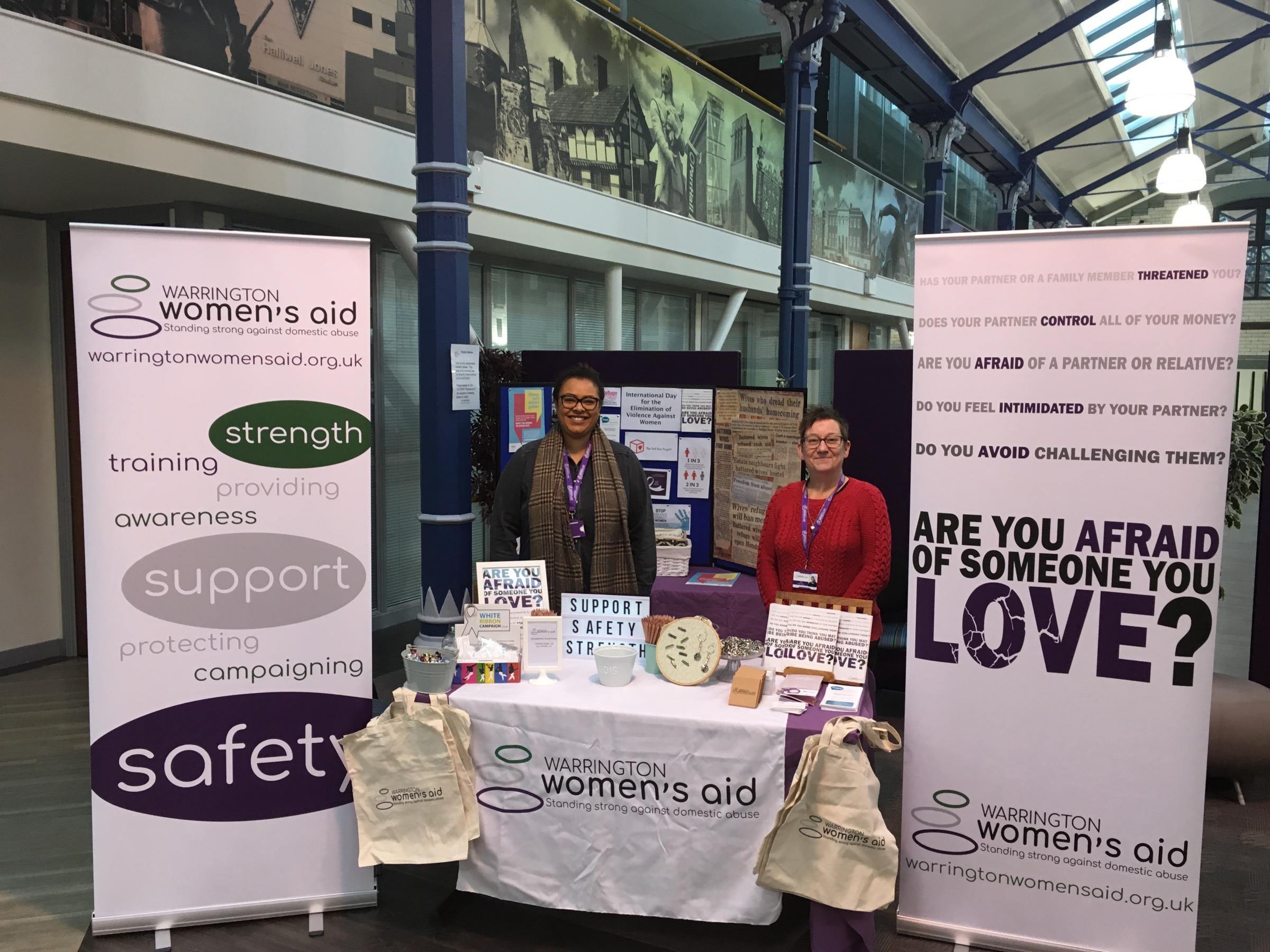 Warrington Women's Aid at The Gateway