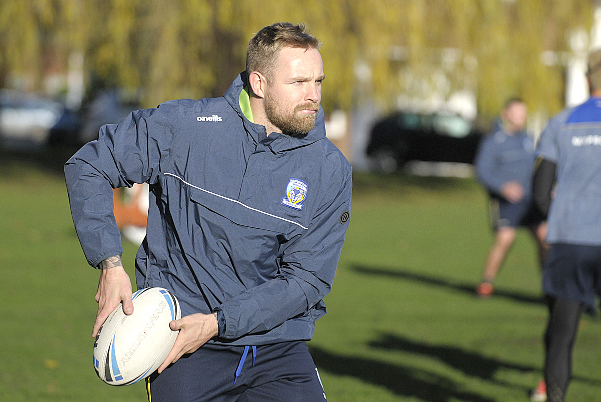 Warrington Wolves are back in training after the Christmas break. Picture by Mike Boden