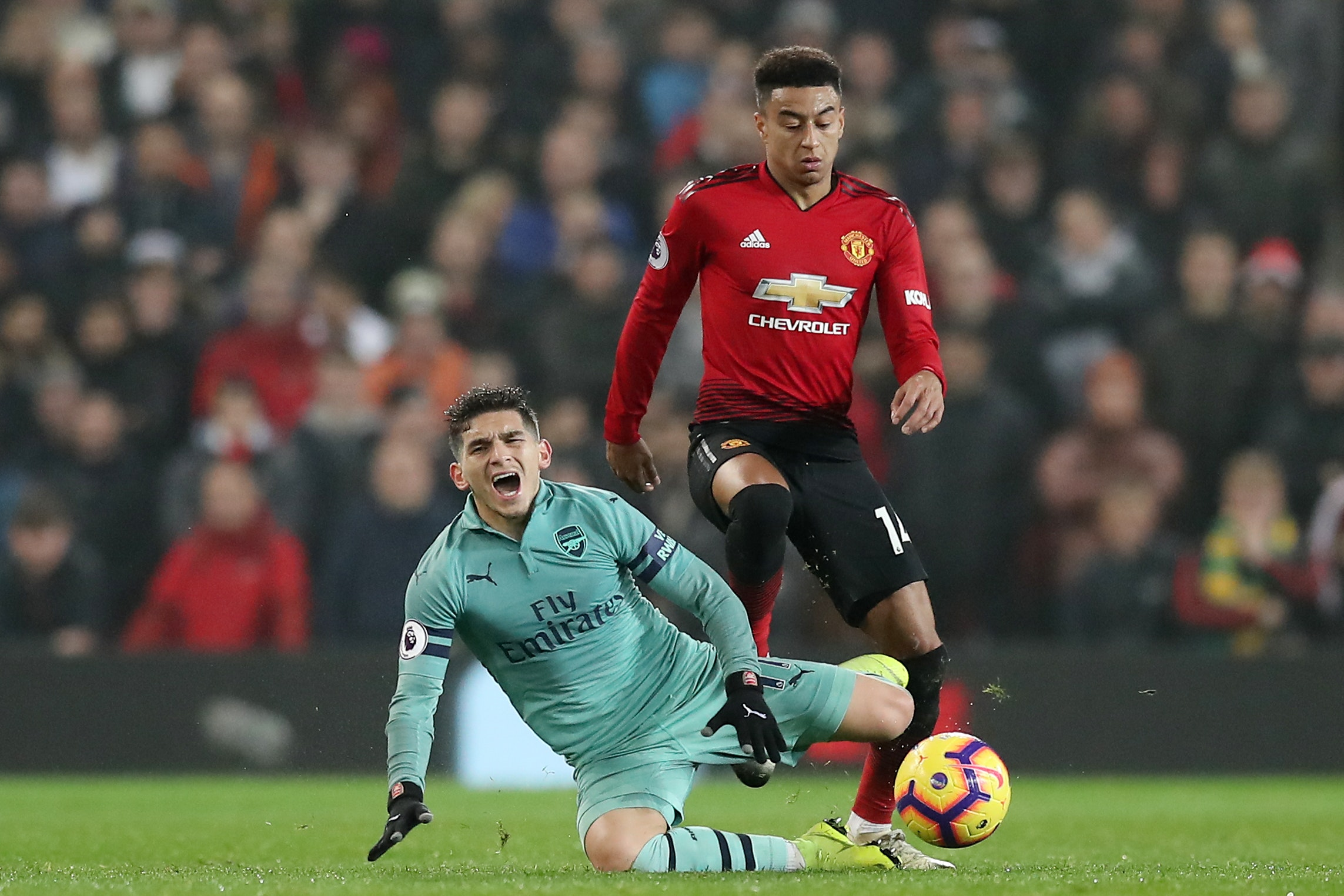 Jesse Lingard secured a point for United against Arsenal
