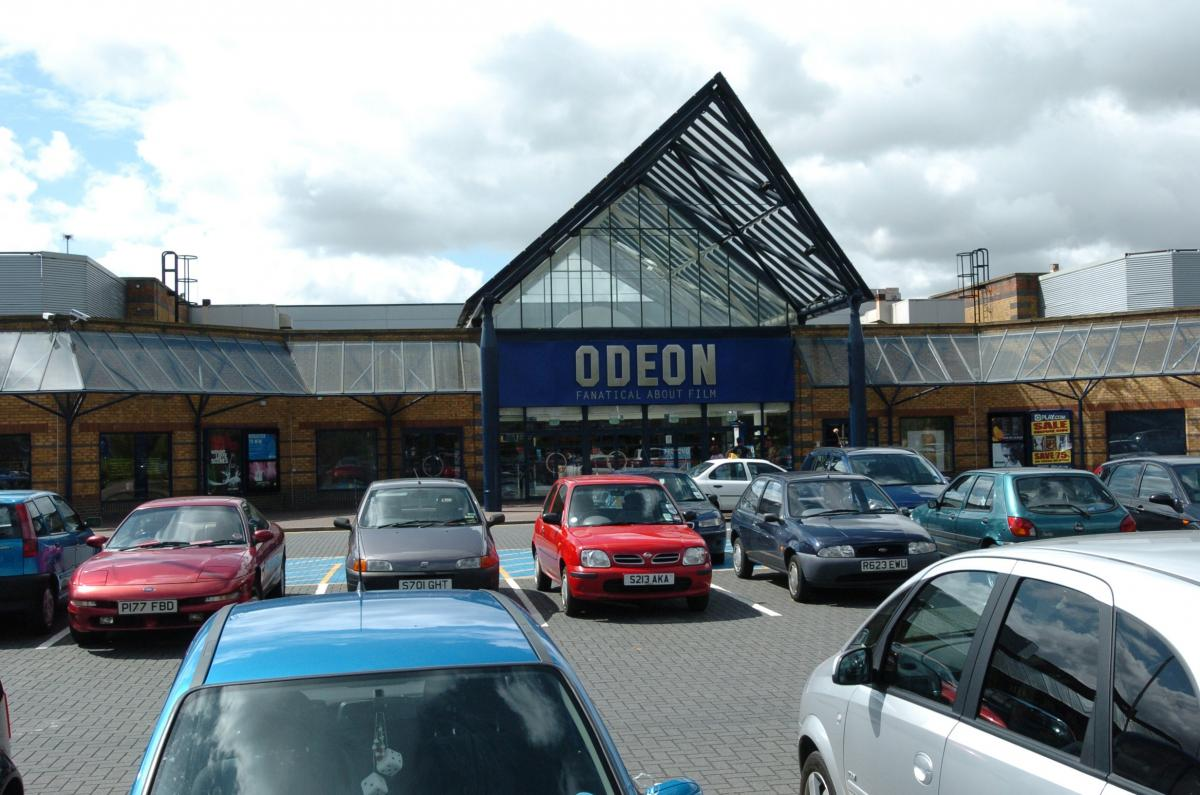 The arrest was made at the Odeon cinema
