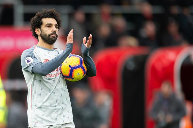 Mohamed Salah, pictured, has been praised by Liverpool boss Jurgen Klopp