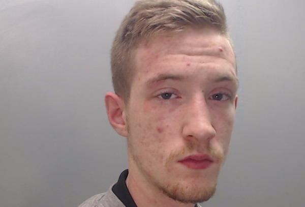 Norman Penson was caught with heroin, crack cocaine and a stun gun during a police raid of Valiant Close in Fearnhead.